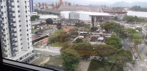 Sala Para Alugar, 90 M² Por R$ 4.200,00/mês - Ponta Da Praia - Santos/sp - Sa0089