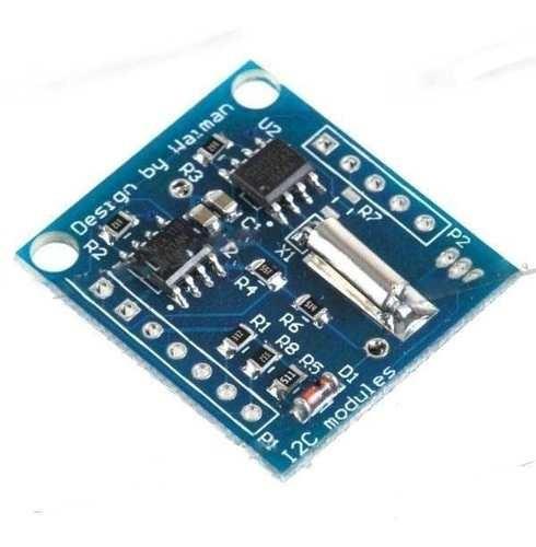 Rtc Relógio Tempo Real Ds1307 + Pinos +bateria Arduino