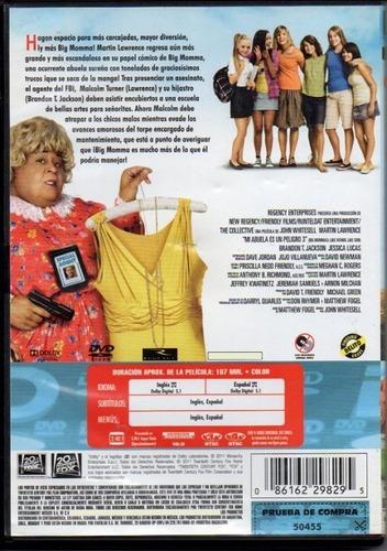 Mi Abuela Es Un Peligro 1 2 Y 3 Martin Lawrence Película Dvd Mercado Libre