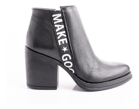 Botas Zapatos Mujer Botitas Borcegos Botinetas Taco Cuero Vacuno Moda