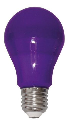 Lampada Led Roxa / Lilas A60 - E27 Bivolt