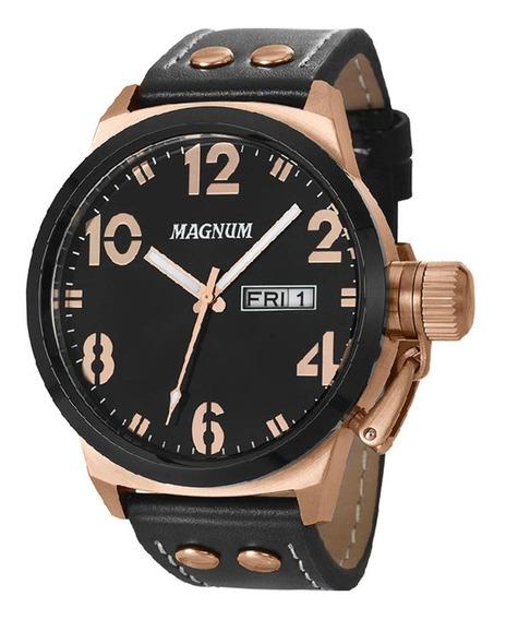 Relógio Masculino Magnum Analógico Ma32783p - Rosê