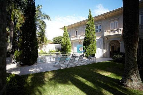 Imagem 1 de 30 de Casa Com 5 Suítes À Venda, 1120 M² Por R$ 7.000.000 - Condomínio Country Village - Ribeirão Preto/sp - Ca0720