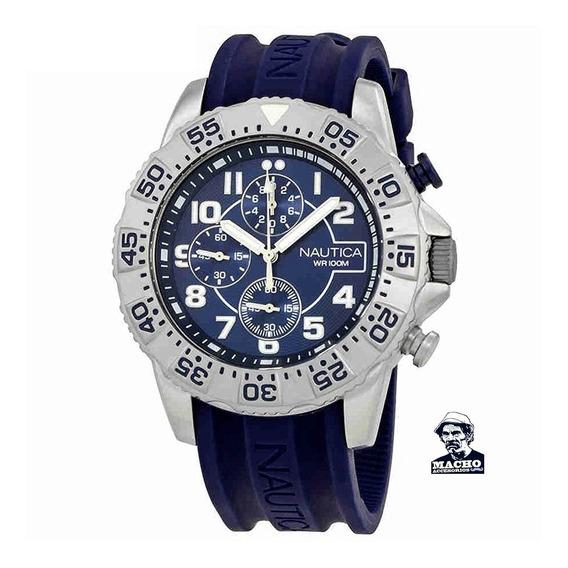 Reloj Nautica Nsr 104 Nai16512g En Stock Original Garantía