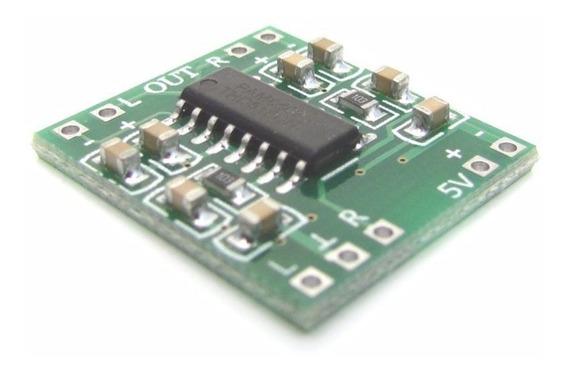 Pam8403 Placa Mini Amplificador Mosfet Digital De 2 X 3 W