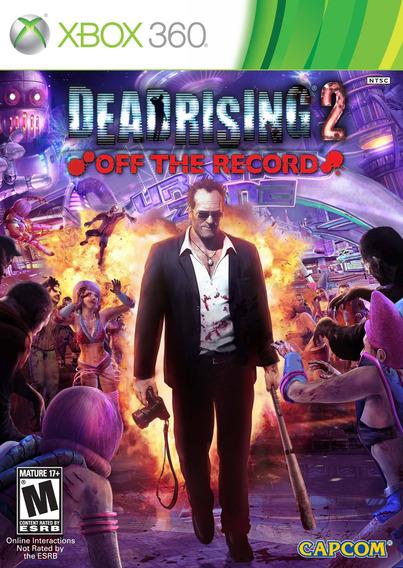 Jogo Novo Lacrado Dead Rising 2 Off The Record Para Xbox 360