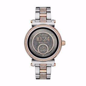 Relógio Smartwatch Michael Kors Access Sofie Mkt5040 Prata