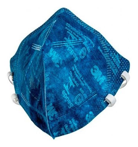 Kit 20 Mascaras Respirador Pff2 9820 Azul Unidade 3m