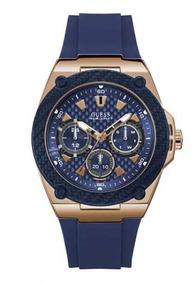 Reloj Fleet Oro/azul Guess