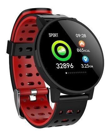 Smartwatch Makibes T3 A Prova Dagua Vermelho