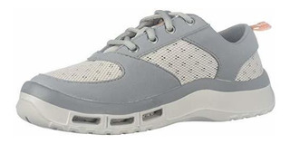 Softscience Mujer Aleta 3.0de Canotaje Zapato Gris 9 B(m) U