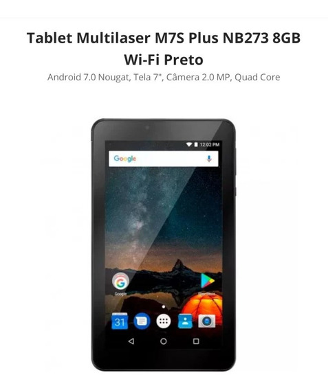 Tablet Multilaser M7s Plus