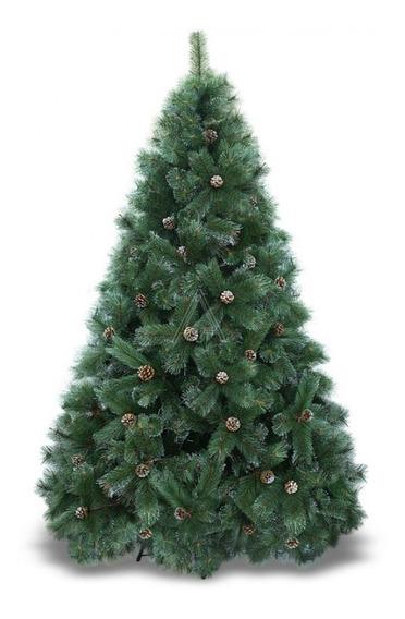 Arbol De Navidad Suizo Verde Pino 210cm De Arbocol