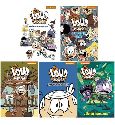 Pack The Loud House ( 5 Libros )