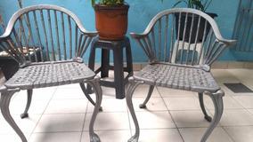 Cadeiras Em Ferro Fundido Para Jardim