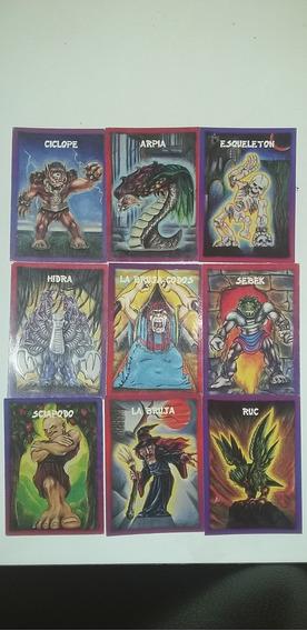 Monstruos Del Bolsillo 9 Cartas