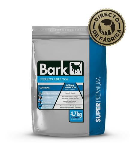 Imagen 1 de 4 de Croquetas Para Perro Súper Premium  Bark Adulto 4.7kg