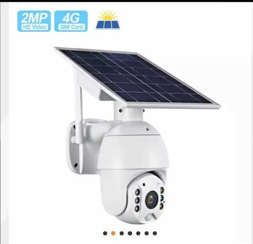 Cámara Exterior Solar Para Sim Card 3g 4g Lte Sensor Y App