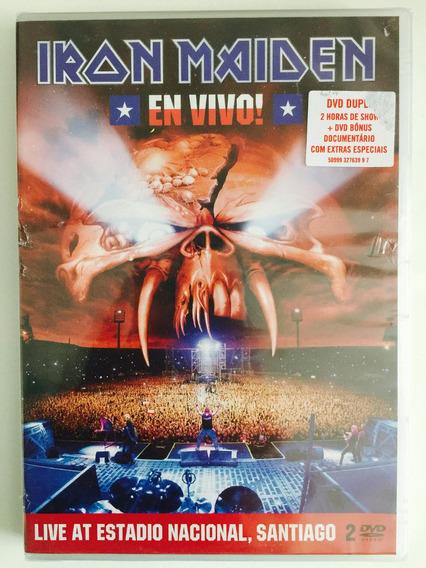 Dvd Duplo - Iron Maiden En Vivo! (2012) 1ª Edição Lacrado!!!