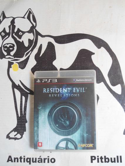 Resident Evil Revelations Playstation 3 Midia Fisica