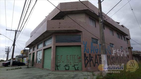 Comercio Com Apartamento Em Itanhaém . - V6639