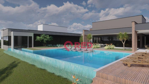 Magnifica Casa Térrea No Condomínio Fazenda Alvorada - Ca0444