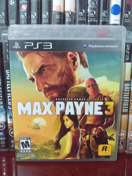 Max Payne 3 Ps3 | Parcelamento Sem Juros