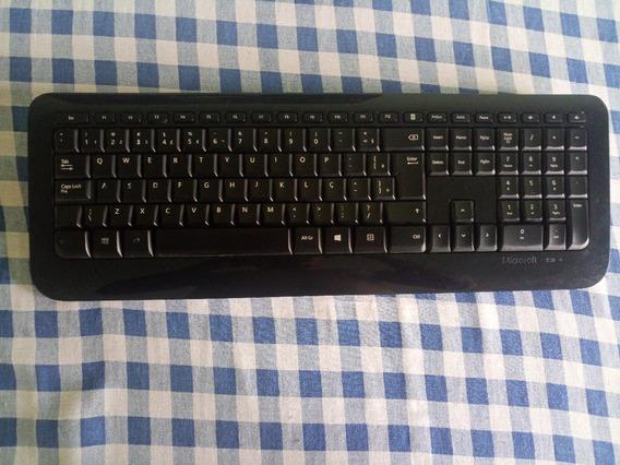Teclado Microsoft 800 + Mouse Microsoft 1000 - Sem Adaptador