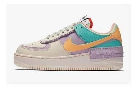 Zapatillas Nike Air Force 1 Low Shadow Mujer 100% Originales