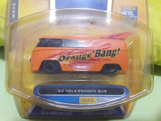 Miniatura Kombi Vw 62 Lacrada Orange Jada Leia Descrição