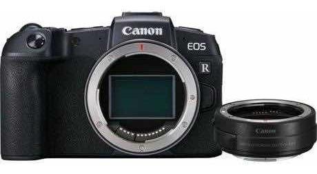 Camera Canon Eos Rp Com Adaptador