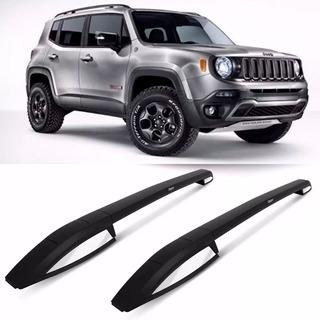 Barras Longitudinales Aluminio Negro Bepo Jeep Renegade