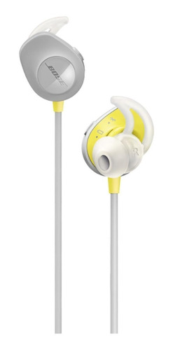 Imagen 1 de 3 de Audífonos in-ear inalámbricos Bose SoundSport Wireless citron
