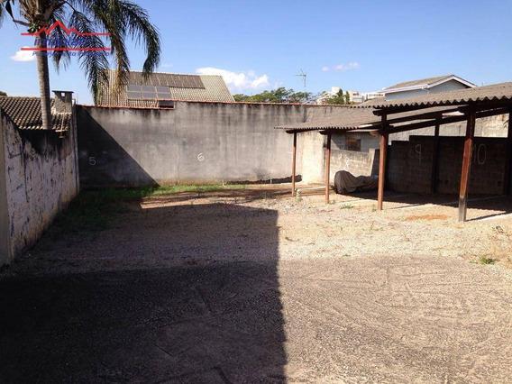 Terreno Residencial À Venda, Jardim Tapajós, Atibaia. - Te1089