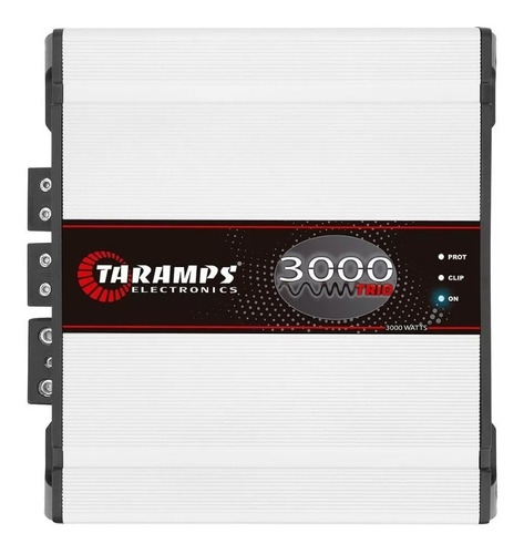 Imagem 1 de 6 de Módulo Taramps Trio 3000 2 Ohms 3000 W Rms Amplificador Som