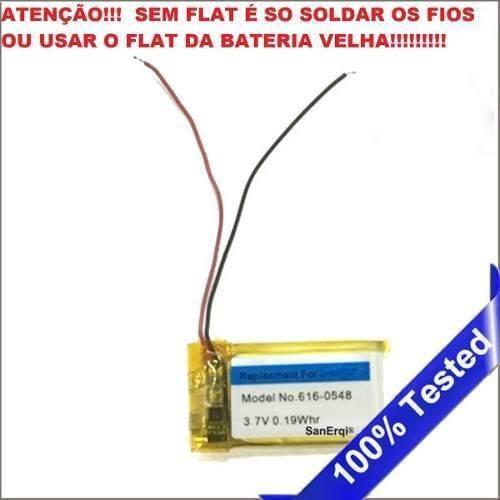 Bateria iPod Shuffle 4 ( 4ª Geração ) 616-0429 3.7v 0.27w