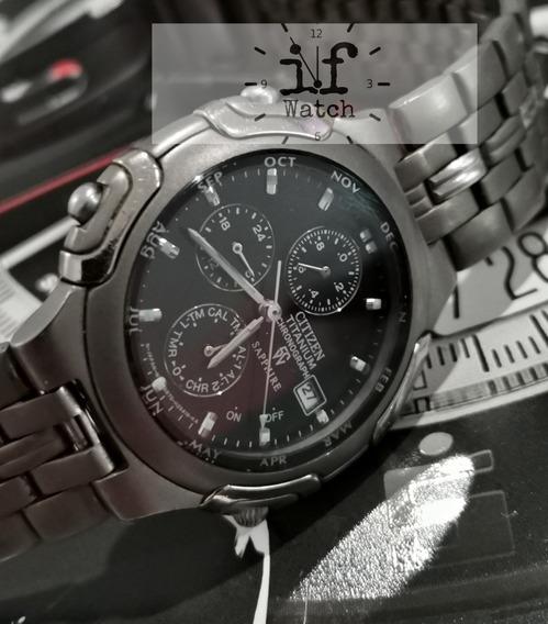 Reloj Citizen Titanium Saphire Crono