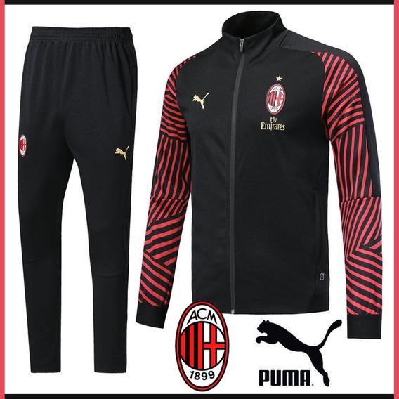 Buzo Ac Milan Italia Casaca Pantalón Puma Envio Gratis