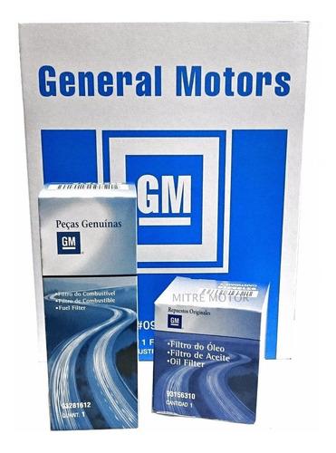 Kit Filtros Chevrolet Meriva 1.8 8v  Gm