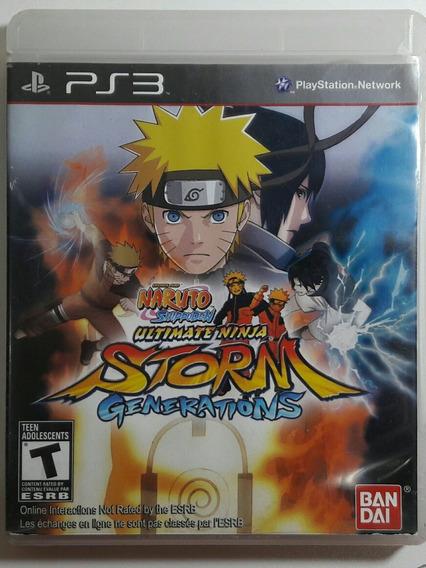 Jogo De Ps3 Naruto Storm Generations Em Midia Física