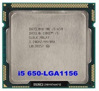 Processador Intel® Core I5-650 + 4gb Ddr3 + Cooler