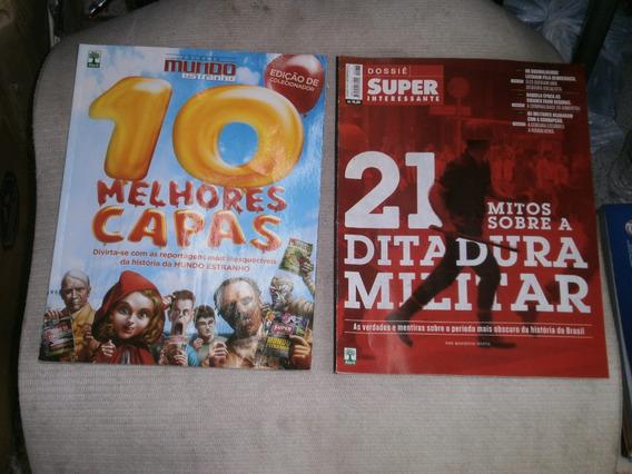 Mundo Estranho - Super - Recreio - 3 Revistas Por R$ 15,00