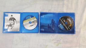 Fifa 15 + Fallout 4 Mídia Física (blu-ray) Ps4