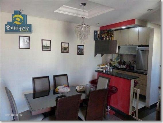 Apartamento Com 3 Dormitórios À Venda, 65 M² Por R$ 430.000,00 - Vila Pires - Santo André/sp - Ap2139