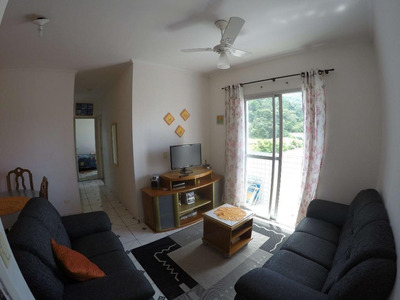 Apartamento Com 2 Dormitórios Para Alugar, 70 M² Por R$ 1.300/mês - Canto Do Forte - Praia Grande/sp - Ap2691