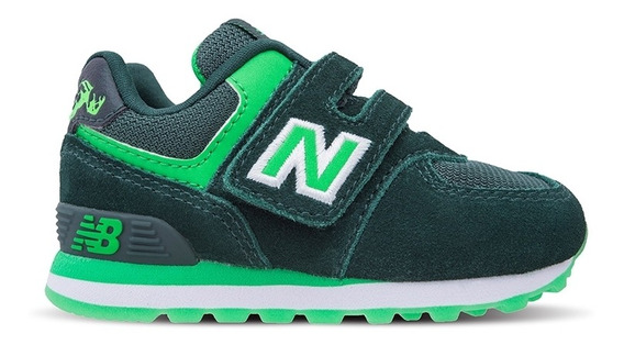 Zapatillas Bebe New Balance 574 Avengers Hulk Marvel Infant
