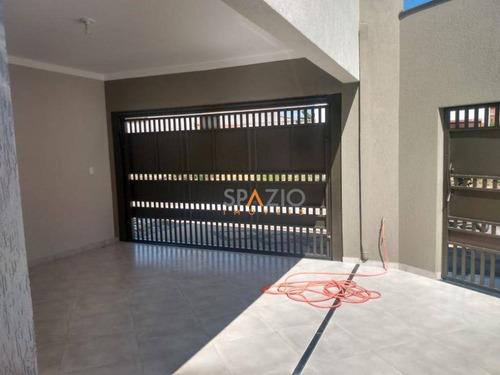 Imagem 1 de 11 de Casa Com 3 Dormitórios À Venda, 125 M² Por R$ 320.000,00 - Jardim São Caetano Ii - Rio Claro/sp - Ca0445