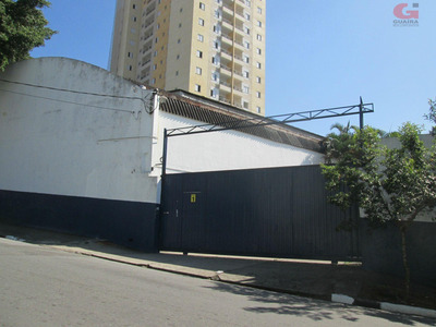 Galpão Comercial Para Venda E Locação, Baeta Neves, São Bernardo Do Campo - Ga1370. - Ga1370