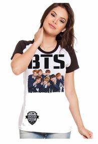 Camiseta Camisa Bts Imagem Suga Jungkook Jimin Jin