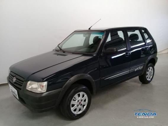 Fiat Uno Mille Way Economy 1.0 Mpi 8v Flex, Hmz6013